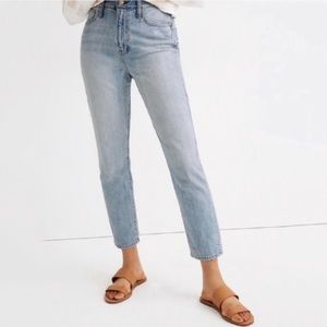 NWT Madewell High Rise Curvy Perfect Vintage Jean